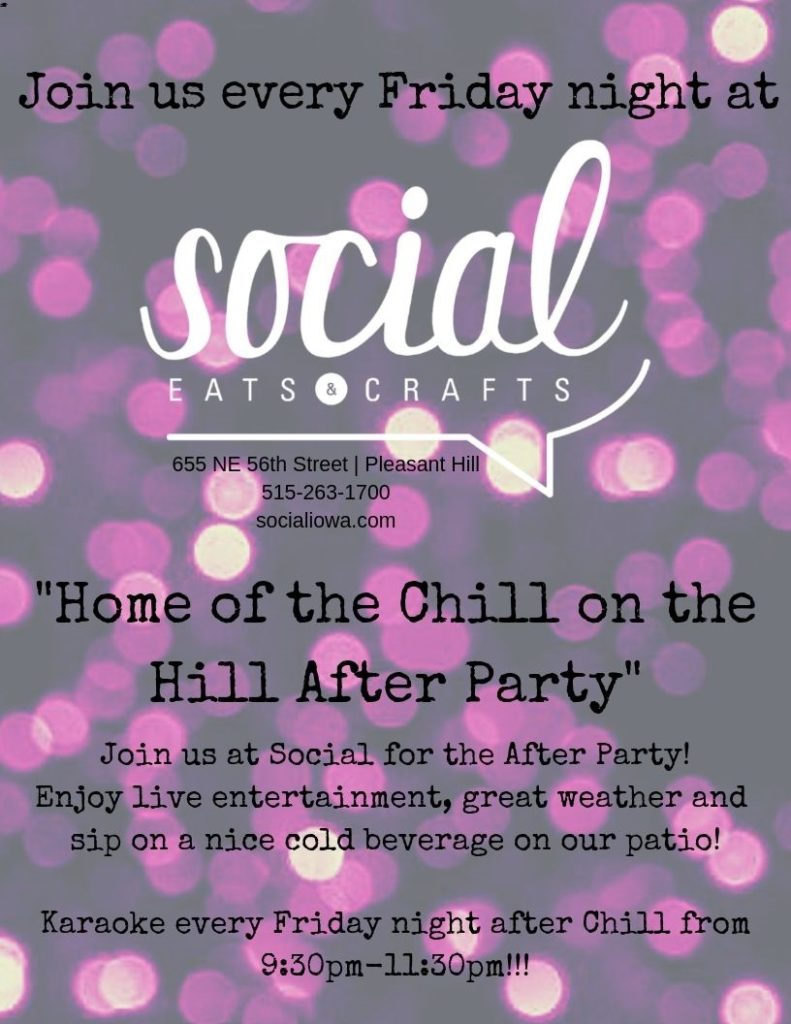 Chill on the Hill After Party in Social