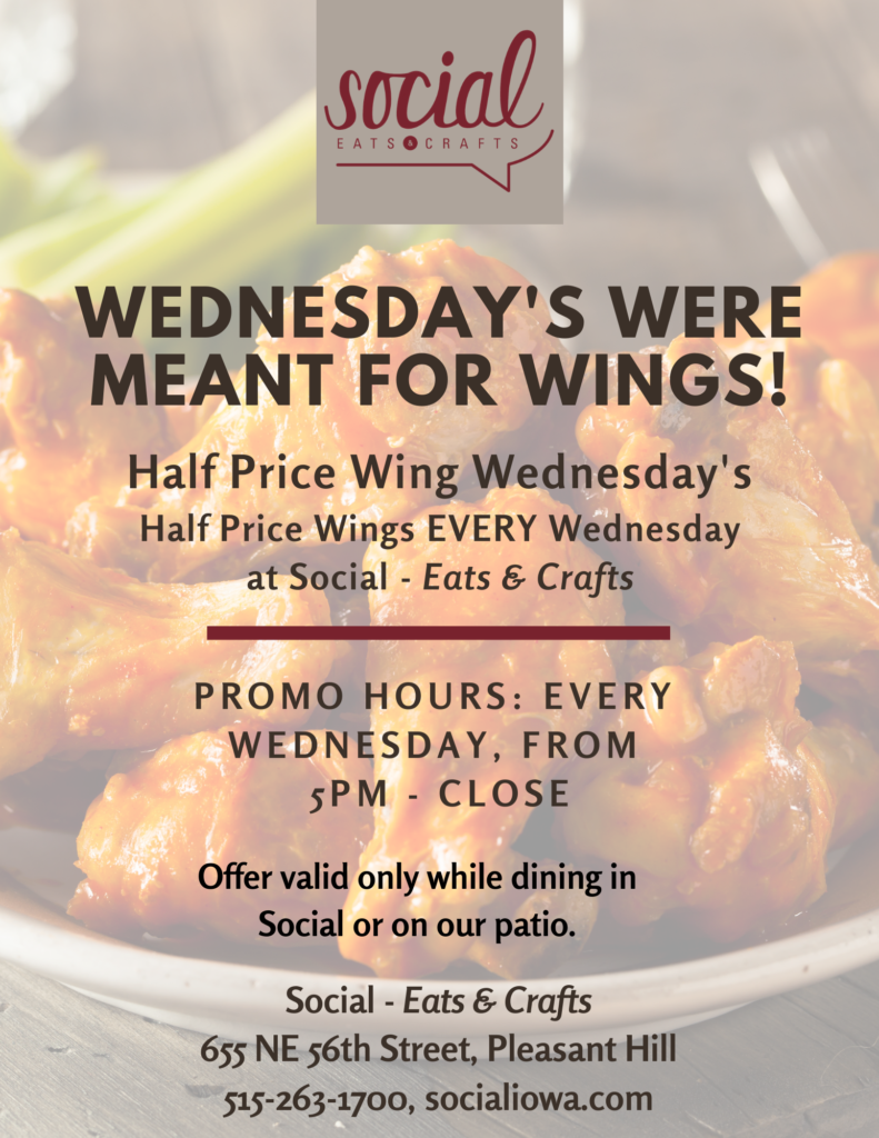 Half Price Wing Night